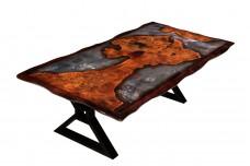 Mappa Burl dining table