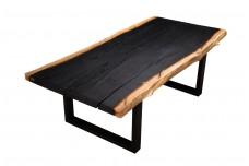 Burnt White Oak dining table