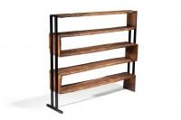 Birch shelves unit