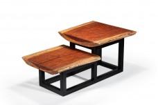 Bubinga side table