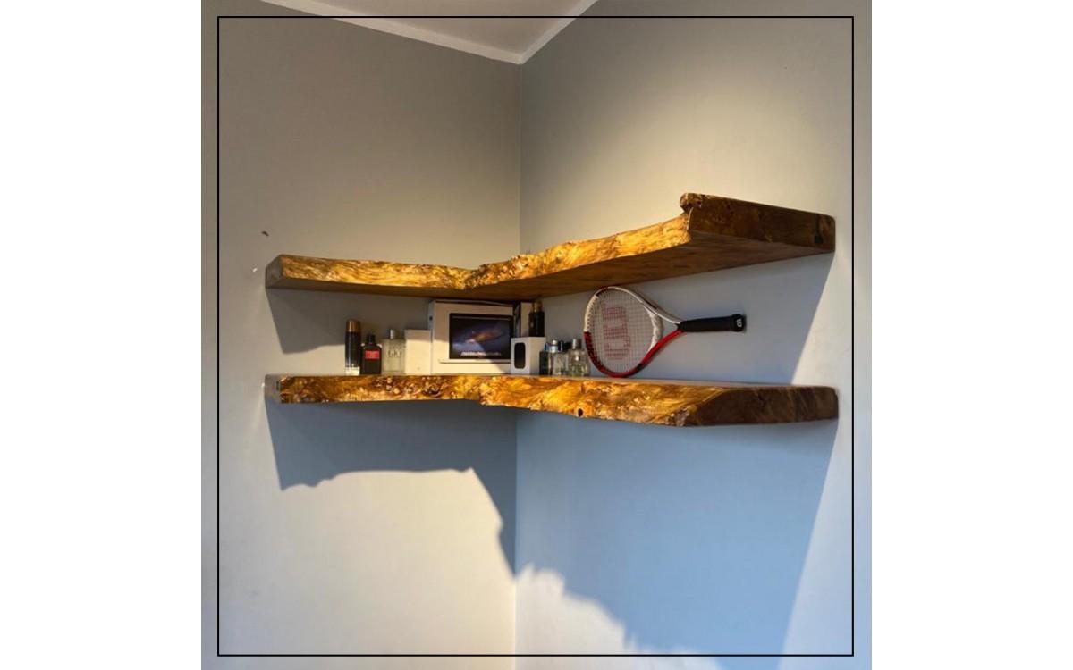 Mappa Burl shelves