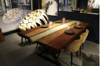 Bubinga dining table